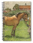 Nils Kreuger, 1858-1930, Brunte Picked Up On Sunday Morning Spiral Notebook