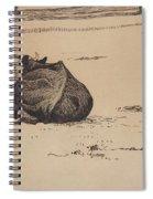 Nils Kreuger, 1858-1930, Resting Cow Spiral Notebook