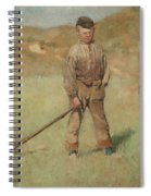 Nils Kreuger, 1858-1930, Young Boy, Scene From Holland. Executed In July-august 1883 Spiral Notebook