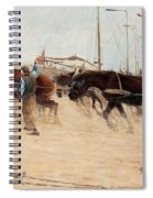 Nils Kreuger,   From The Dutch Coast. Spiral Notebook