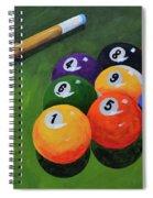 Nine Ball Spiral Notebook