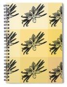 Nine Shades Of Vanilla Spiral Notebook
