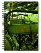 Nineteen Eighteen Harley Davidson Spiral Notebook