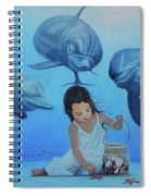 Ninia Del Mar Spiral Notebook