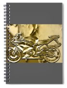Ninja Motorcycle Colection Spiral Notebook