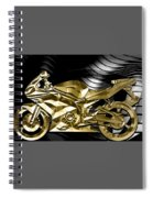Ninja Motorcycle Collection Spiral Notebook