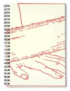Ninth Station- Jesus Falls The Third Time Spiral Notebook