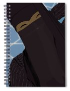 Niqabi Right Spiral Notebook