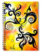 Nirvana Zen Yellow Way To Eternity Spiral Notebook