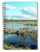 Nisqually Marsh Spiral Notebook
