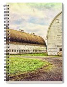 Nisqually Twin Barns Spiral Notebook