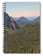 Nisqually Valley In Color Spiral Notebook