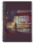Nite Flower Market Spiral Notebook