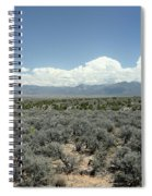 New Mexico Landscape 3 Spiral Notebook