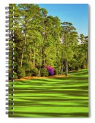 No. 10 Camellia 495 Yards Par 4 Spiral Notebook