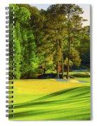 No. 11 White Dogwood 505 Yards Par 4 Spiral Notebook