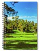 No. 15   Fire Thorn 530 Yards Par 5 Spiral Notebook