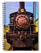 No 29 Virgina Truckee Train Spiral Notebook