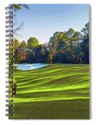 No. 5 Magnolia 455 Yards  Par 4 Spiral Notebook