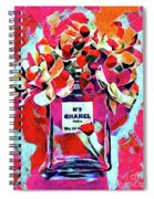 No 5 Pink Colored Spiral Notebook