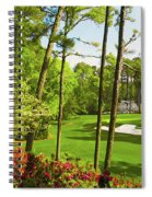 No. 6 Juniper 180 Yards Par 3 Spiral Notebook