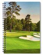 No. 7  Pampas 450 Yards Par 4 Spiral Notebook