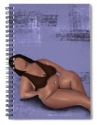 No Angel Spiral Notebook