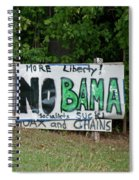 No Bama Spiral Notebook
