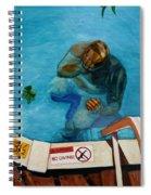 No Diving Spiral Notebook