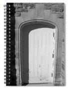 No Entrance Spiral Notebook