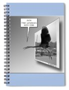 No Fly Zone Spiral Notebook