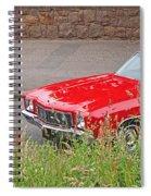 No Hiding Place - Monte Carlo Ss 1970 Spiral Notebook