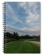 Pathway To The Sky Spiral Notebook