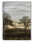 Wine Country Sunrise Spiral Notebook