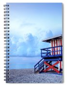 No Lifeguard On Duty Spiral Notebook