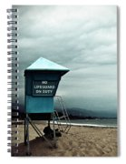 Santa Barbara Life Guard Spiral Notebook