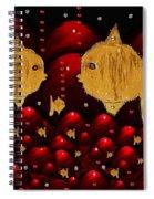 No More Cesium 137 Spiral Notebook