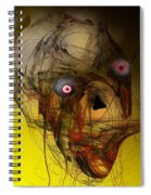 No Mouth Spiral Notebook