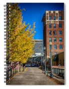 No One Occupying Wall Street Spiral Notebook