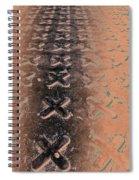 No O's - Negative In Copper Spiral Notebook