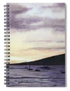 No Safer Harbor Lahaina Hawaii Spiral Notebook