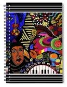 No Slave Songs Spiral Notebook