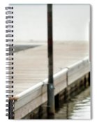 No Swimming Or Diving Spiral Notebook