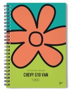 No020 My Scooby Doo Minimal Movie Car Poster Spiral Notebook