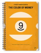 No089 My The Color Of Money Minimal Movie Poster Spiral Notebook