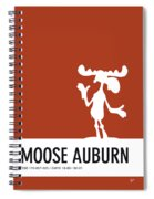 No19 My Minimal Color Code Poster Bullwinkle Spiral Notebook