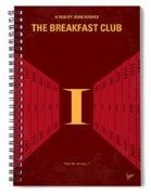 No309 My The Breakfast Club Minimal Movie Poster Spiral Notebook