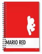 No33 My Minimal Color Code Poster Mario Spiral Notebook