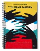 No468 My Y Tu Mama Tambien Minimal Movie Poster Spiral Notebook