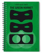 No561 My The Green Hornet Minimal Movie Poster Spiral Notebook